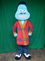 mascot Blue Stem Cell Mascot Costume custommizable Cartoon cell Theme Anime Costume Costumes Carnival Fancy Dress Kits