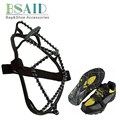 BSAID Snow Crampons Anti-slip Ice Gripper Stainless Steel Spring Traction Cleats Boot Tread Spikes Shoes Ice Grips Climb Hiking