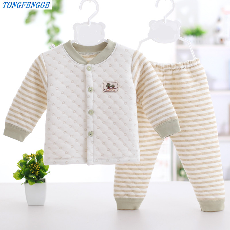 Baby boy Clothes Winter Newborn kids boy clothes set Long Sleeve Tops+Pants 2PCS thickness Toddler outfits bebes jogging suits