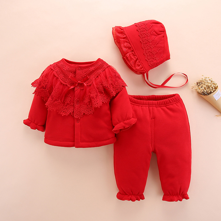 95e282e01189 new born baby girl winter clothes set 2018 high quality cute warm ...