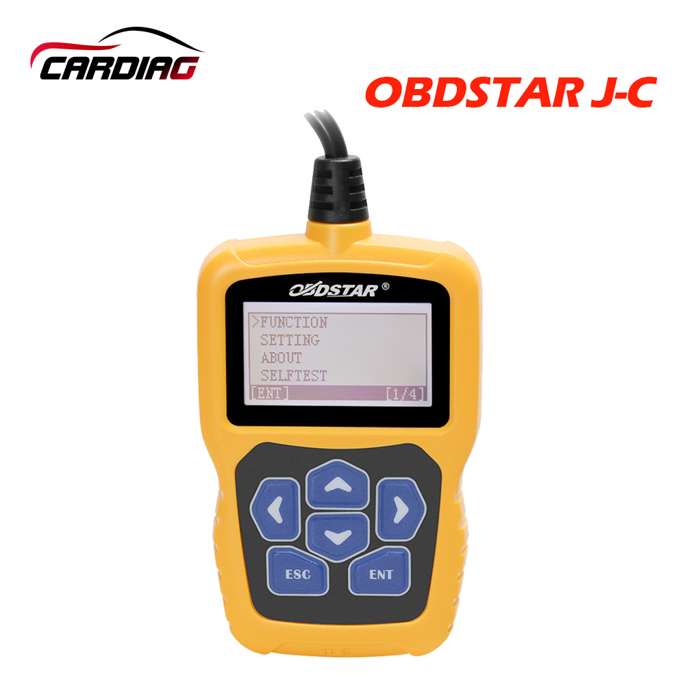 Original OBDSTAR J C calculating pin code Immobilizer tool free update online for wide range of