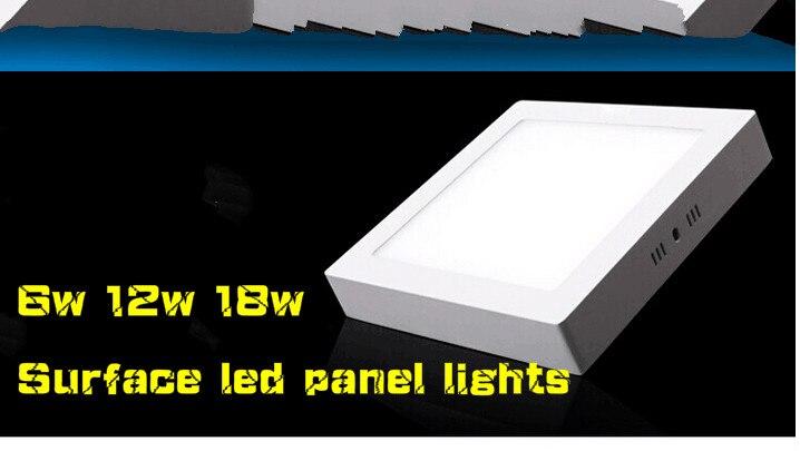 Veliki strop 6w 12w 18w površinski montiran led downlight Svjetiljka - LED Rasvjeta