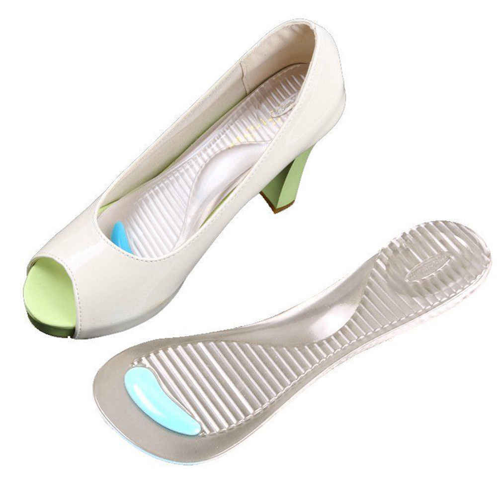 6074bc32aed ... 1 Pairs Silicone Gel Pad Shoes Insole Non-Slip Sandals High Heel Arch  Cushion Support ...