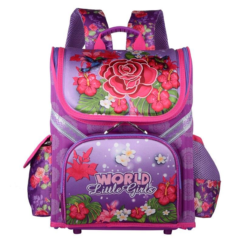37b2d094a93a ЕВА Класс 1-5 Основной детские школьные сумки бабочки девочки мальчики  школьная Рюкзак ортопедический Водонепроницаемый