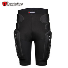 NEW HEROBIKER Outdoor Sports Protective Hockey Pants Armor Off-Road Shorts Gear Skiing Hip Pad Protection