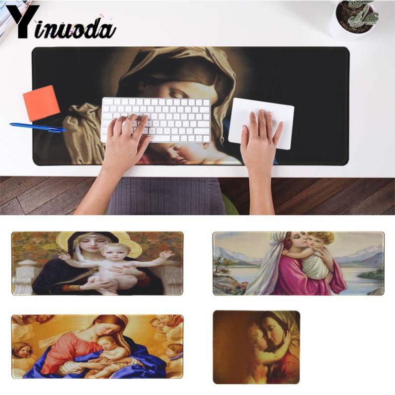 Yinuoda Мать Мария геймер Скорость мыши розничной маленький резиновый коврик Размеры для 30x90 см и 40x90 см игровые коврики