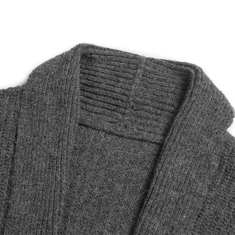 Hommes De Européenne Mince Grey Marque Gris Pour Hiver Chandail Occasionnel J789 Style Cardigan Nouveau Flower Tricots Tricoté Chaud Laine BqBwrYF