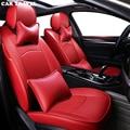 Viajes en coche de real cubierta de asiento de cuero de coche para BMW F10 F11 F15 F16 F20 F25 F30 F34 E60 E70 e90 1 3 4 5 7 serie GT X1 X3 X4
