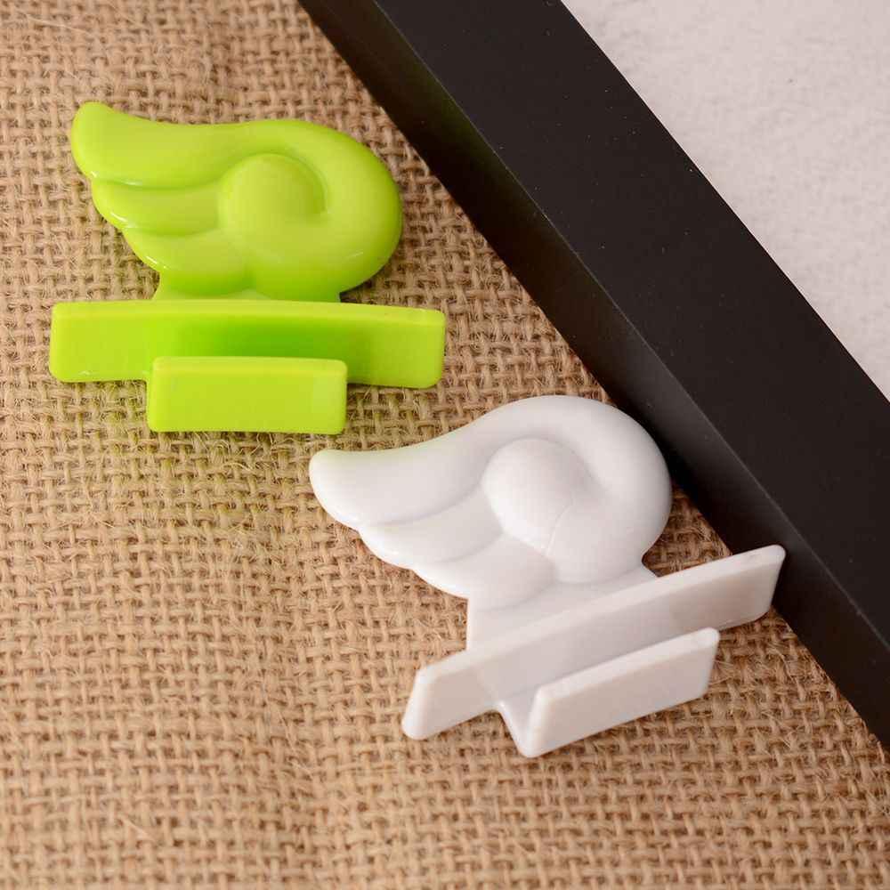 Pop Angel WingToilet Seat Cover Sticking ручка подъемщика Избегайте прикосновения гигиеническая чистая подъемная наклейка санитарный держатель для унитаза