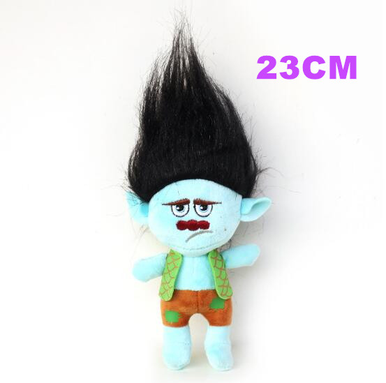 23cm Action Figure Dreamworks Movie Trolls Toy Plush Trolls Black Branch  Trolls Figures Magic Fairy Hair Wizard Kids Toys  In Action U0026 Toy Figures  From Toys ...