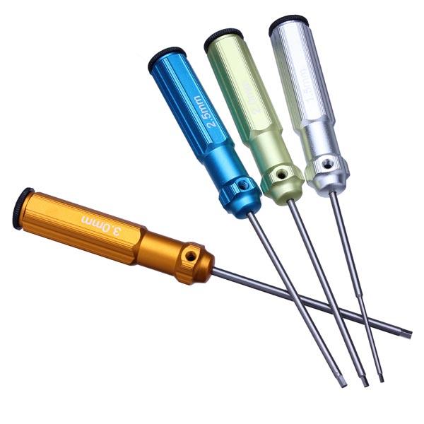 Parts & Accessories Toys & Hobbies 4pcs/lot Tarot Color Compact Hexagonal Screwdriver Tl9010-02 Rc Tools For Guitar Parts & Accessories