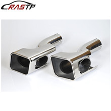 RASTP-Stainless Steel Exhaust Muffler Tip For Land Rover 13 Range Diesel Sports RS-CR8093