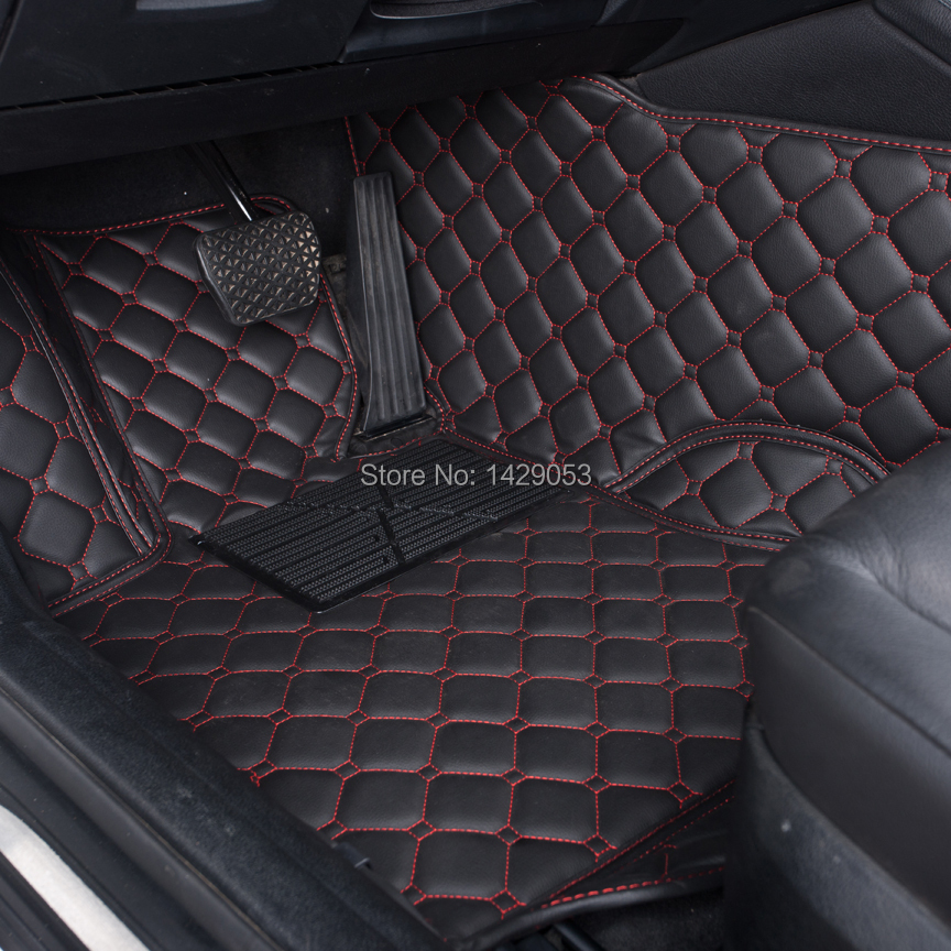 Car floor rugs case for peugeot 206 207 307 308 408 508 for Auto flooring