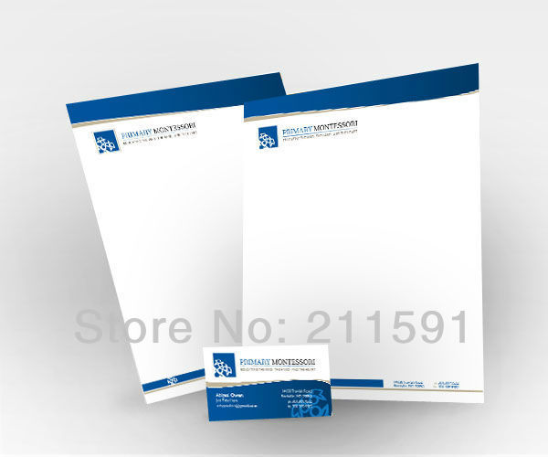 Company Letterhead Business Stationery A4 21 120gsm Wood