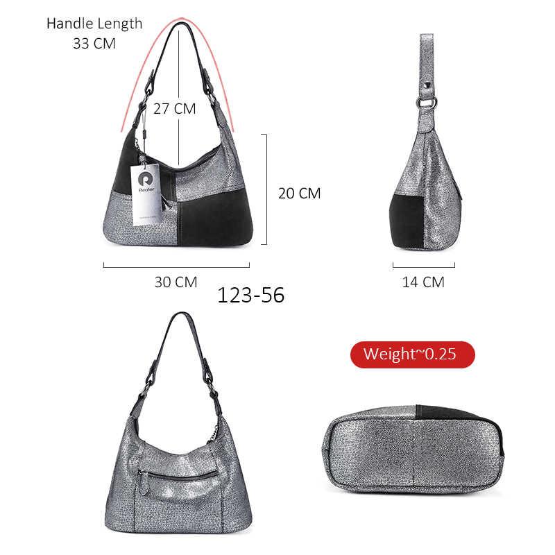 女性バッグ本革大容量ショルダーバッグクロスボディファッショントートバッグ hobo デザイナーハンドバッグパッチワーク