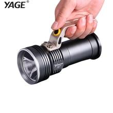YAGE Rechargeable CREE Led Flashlight Hand Lamp Camping Flashlight Touch with 2*18650 Battery Lanterns Lamp EU/USA/UK Plug все цены