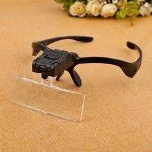 Multifunction 5 Lens 1.0 - 3.5X  Magnifier Loupes head magnifying glas