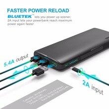 TeckNet 18650 batterie 30150 200mahh 3-Port USB Portable Chargeur Externe Batterie Power Bank usb rapide chargeur pour xiaomi (2A Entrée)