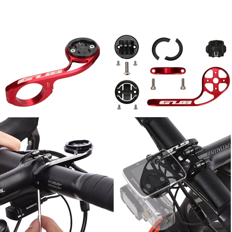 GUB 669 CNC Cycle Computer Holder Bicycle Computer Mount GoPro Camera Support Mount For GARMIN/CATEYE bike computer