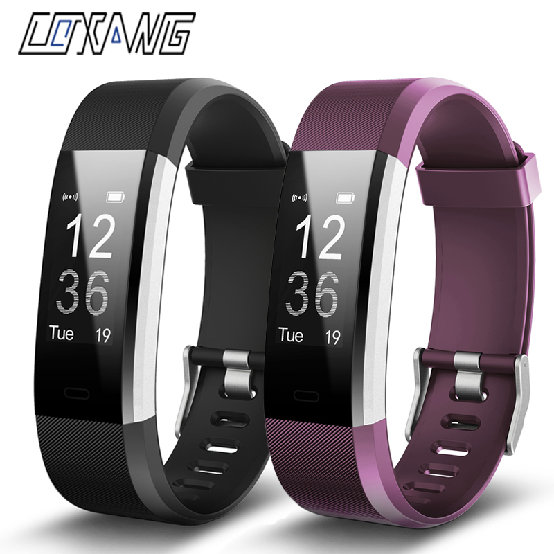 COXANG ID115 Plus Smart Band Id115 hr Heart Rate Monitor Smart Bracelet Step Counter id 115 Veryfit Wristband For IOS AndroidCOXANG ID115 Plus Smart Band Id115 hr Heart Rate Monitor Smart Bracelet Step Counter id 115 Veryfit Wristband For IOS Android