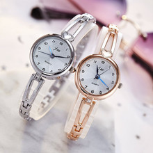 цены New 2019 Brand Luxury Women Bracelet Watches Fashion Women Dress Wristwatch Ladies Quartz Rose Gold Watch Clock Relogio Feminino