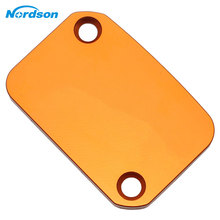 Nordson Orange Motorcycle Front Brake Fluid Reservoir Cover Cap Modified Accessory For KTM DUKE 125 200 390 690 Duke RC 200 390 cheap Covers Ornamental Mouldings 17kg 55inch 37inch 6inch Aluminum