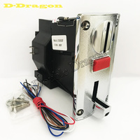 5pcs DG600F Electronic Programmable Multi 6 Coin Acceptor For Vending Machine Coin Selector For Washing Machine Token Acceptor