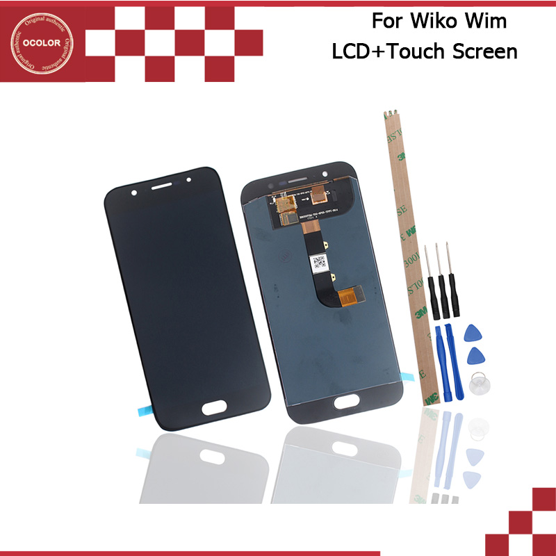 ocolor For Wiko Wim LCD Display and Touch With Tools And Adhesive Mobile Phone Accessories Replacement