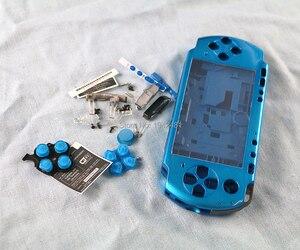 Image 5 - OCGAME מעטפת משחק קונסולת החלפת מלא שיכון כיסוי מקרה עם כפתורים ערכת עבור PSP3000 PSP 3000