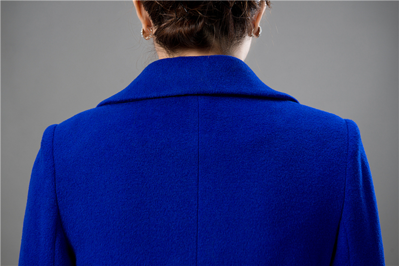 Wool Coat Female Fashion Women Woolen Coats High-end Elegant Long Slim Winter Jacket Royal Coats&Jackets Plus Size Femininos 4XL 11
