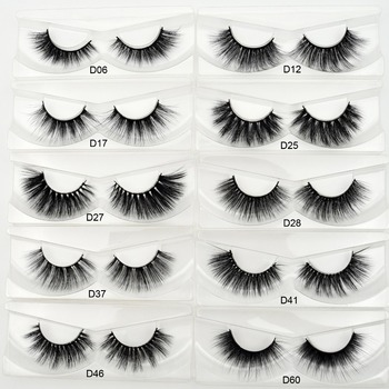 Visofree 3D silk eyelashes handmade full strip lashes thick false eyelashes makeup silk eye lashes 3d ipek kirpik silk lashes