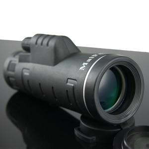 Image 1 - High Power 18X62 Monocular Lll Night Vision Telescope Professional Long Range Portable Binoculars Monocular for Camping Hunting