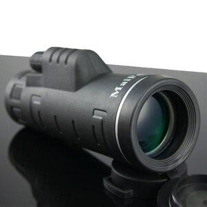 Image 1 - Telescopio de visión nocturna Lll Monocular 18X62 de alta potencia, prismáticos portátiles profesionales de largo alcance, Monocular para caza y acampada
