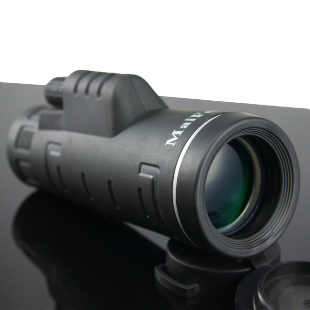 Telescopio de visión nocturna Lll Monocular 18X62 de alta potencia, prismáticos portátiles profesionales de largo alcance, Monocular para caza y acampada