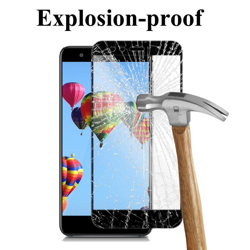 Image 4 - 9H Protective Glass For Huawei P10 Lite Plus P10 Tempered Glass for P10lite P10Plus Huawei p10 p 10lite Screen Protector Film-in Phone Screen Protectors from Cellphones & Telecommunications