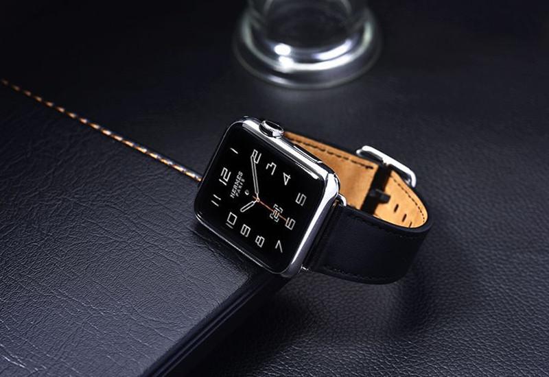 хохлатая кожаный ремешок группа для Apple, часы 42 мм/38 классический пряжки ремня сумасшедшая лошадь кожаный браслет ремешок группа для iwatch от 1/2/3