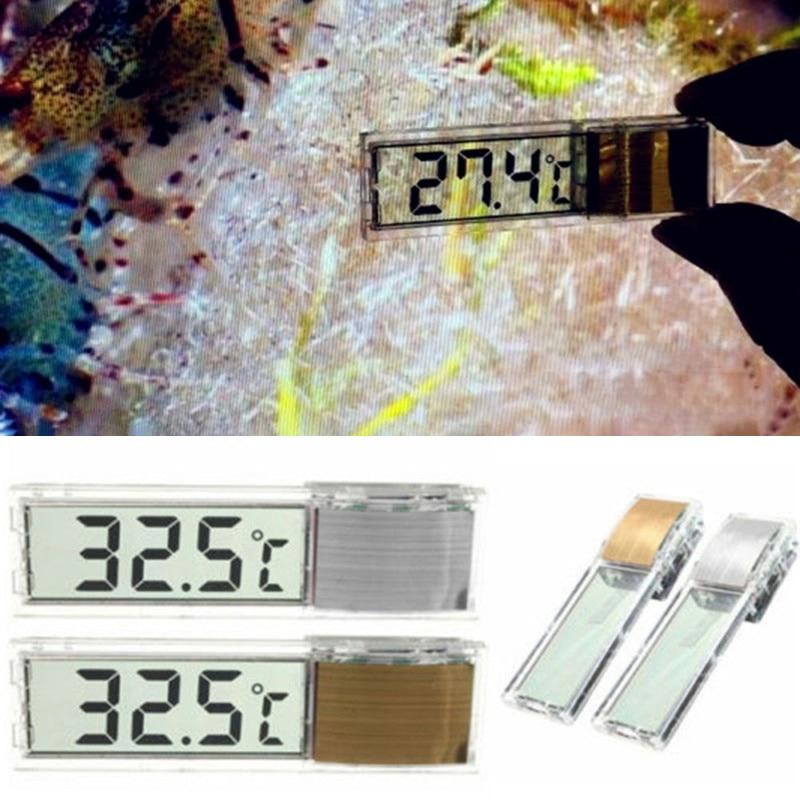 6 style LCD Digital Fish Tank Aquarium Thermometer Marine Water Terrarium Accessories Temperature Measurement Tools