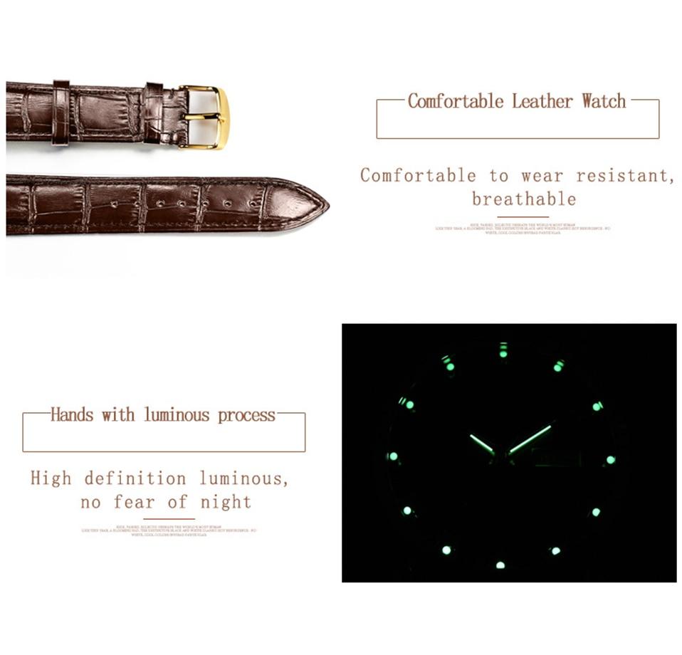 Dos Homens de aço inoxidável relógios top