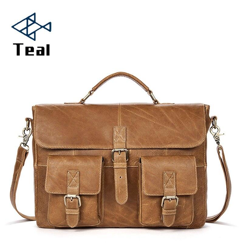 2019 Brand Men Briefcase Shoulder Bag Messenger Bags Casual Business Laptop Briefcase Male Brand Designer Simple Crossbody Bags