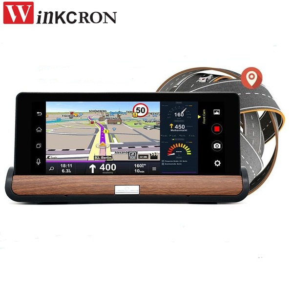 7 3G Android GPS Navigation Car dvr Camera Car video Recorder Rearview vehicle gps Bluetooth AVIN WIFI 16GB Navitel/Europe