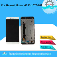 Lcd Screen Display Touch Digitizer With Frame For 5 0 Huawei Honor 4C Pro TIT L01