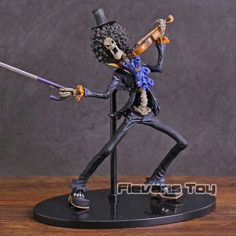 Pvc Collectible Figure Model Toy Anime Figurine One Piece Scultures Big Brook Violin Ver Toys & Hobbies