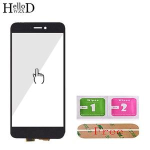 Image 3 - 5.2 screen screen tela sensível ao toque para huawei honor 8 lite tela de toque de vidro digitador do painel touchscreen frente lente vidro sensor adesivo