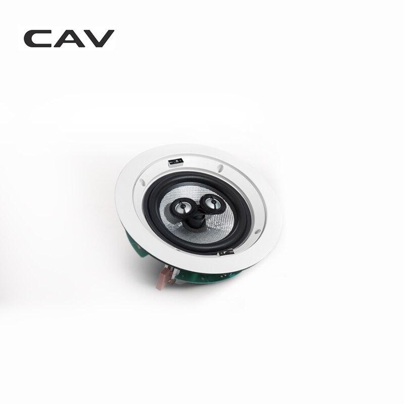 Электрические плиты CAV HT-62 In-ceiling динамик домашний кинотеатр 5,0 СИСТЕМА фоновая музыка глубокий бас аналоговая передача настенный встроенный динамик s (Фото 5)
