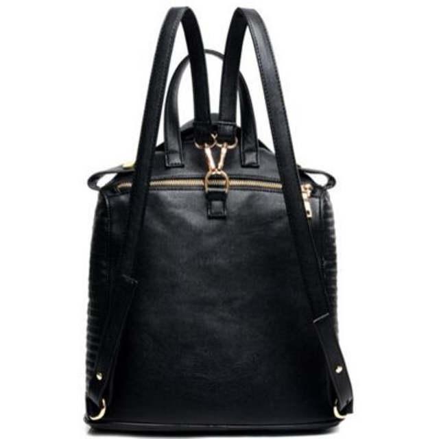 b55181dfad72 placeholder 2018 Модная уникальная одежда дизайн PU женские кожаные рюкзаки  Женская дорожная сумка через плечо женская школьная