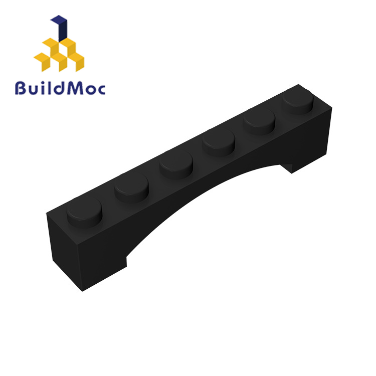 BuildMOC Compatible Assembles Particles 92950 1x6 For Building Blocks Parts DIY Story Educational Creative Gift Toys