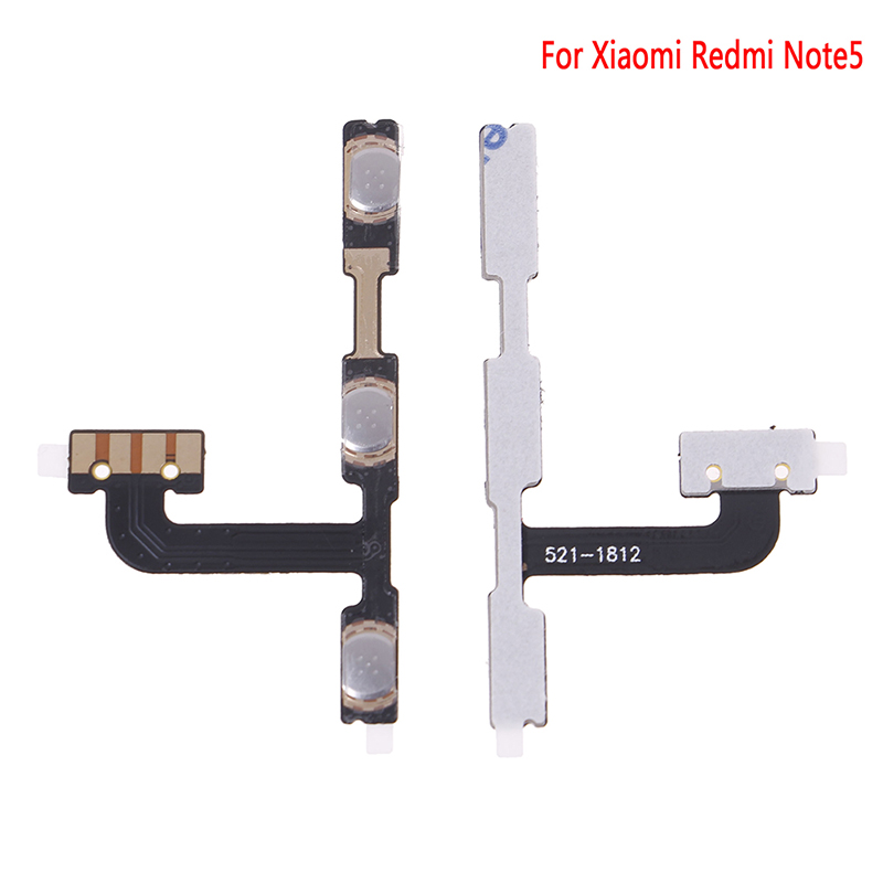 1Pc Volume Button Power Switch On Off Button Flex Cable For Redmi Note5  Replacement Repair Parts Hot sale(China)