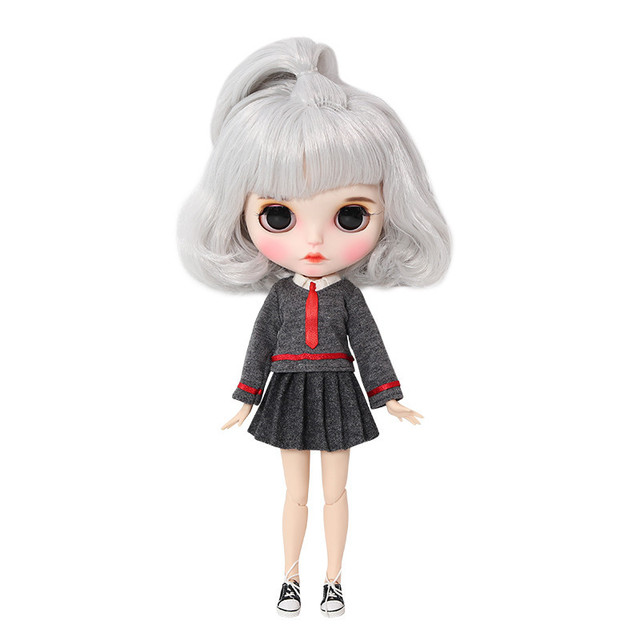Kerena – Premium Custom Blythe Doll with Full Outfit Pouty Face