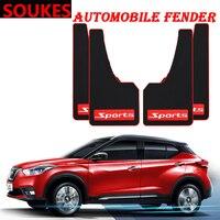 Car Styling Sport Mud Flap Mudguards Fender Cover For Hyundai Solaris Tucson 2016 I30 IX35 I20 Accent Santa Fe Citroen C4 C5 C3