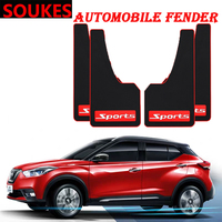 Car Styling Sport Mud Flap Mudguards Fender Cover For Hyundai Solaris Tucson 2016 I30 IX35 I20 Accent Santa Fe Citroen C4 C5 C3